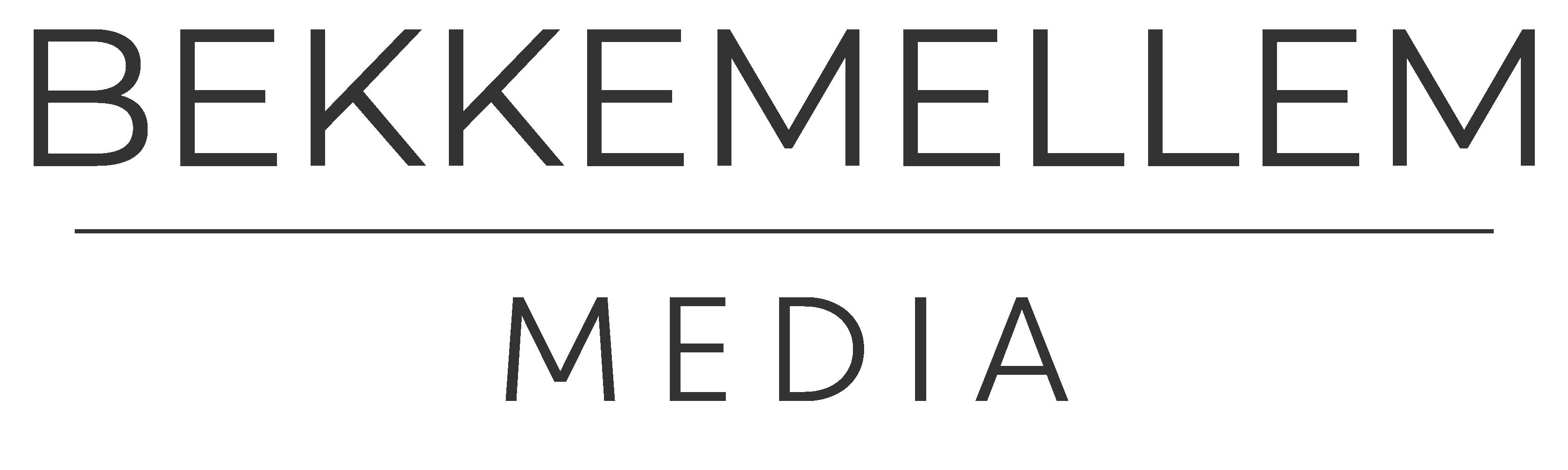 Logo for Bekkemellem media.